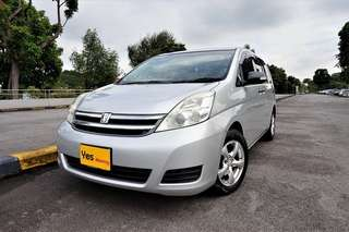 Toyota Isis 1.8 Auto L X-Selection