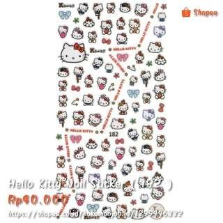 Hello Kitty Nail Sticker ( Code : 182 )