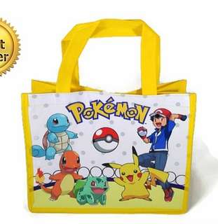 1for$1.20 12for$14 Pokemon Go Pikachu Goodie bag for birthday or any celebration