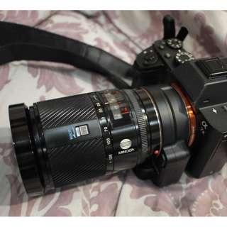 品項很好 MINOLTA AF 28-135mm 1:4-4.5 自動對焦旅遊鏡 江湖傳說老妖鏡 SONY A口直上