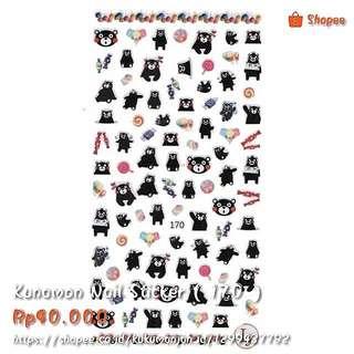 Kunamon Nail Sticker ( Code : 170 )