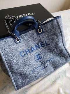 Chanel 牛仔布袋