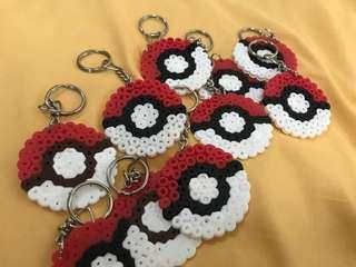 Pokémon Poke ball keychain