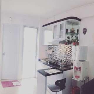 Disewakan apartemen bassura city 2br furnished