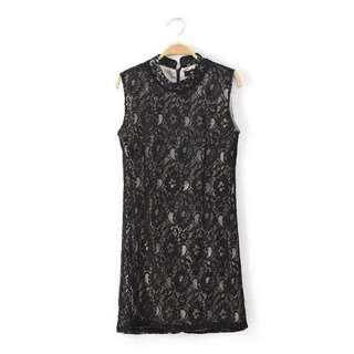 Lace Dress brochat / dress brokat