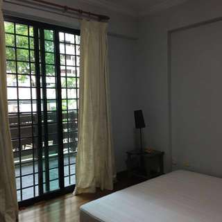 Master Bedroom for rent at Simei Green Condo