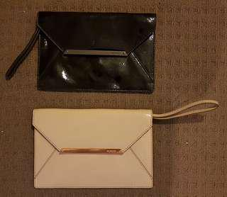 Mimco Clutches- *Nude Sold *