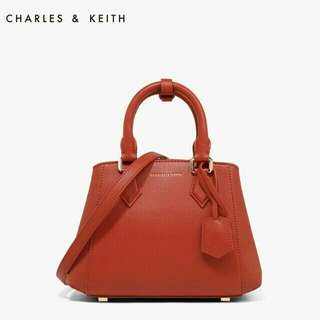 READY STOCK Charlie&Keith Red