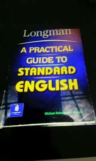 A practical guide to standard english