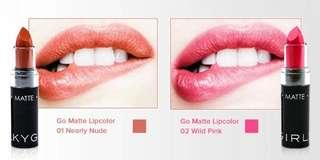 Silkygirl Go Matte Lipcolor