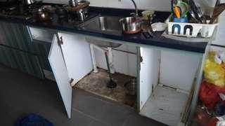 Kitchen sink cabinet (Waterproof)