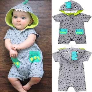 🚚 Instock - dinosaur romper, spring summer 2018 collection