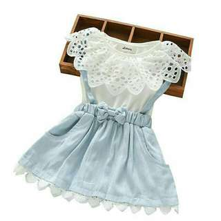 Dress Anak Denim