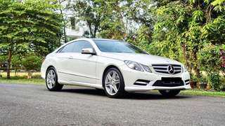 Mercedes benz e250 coupe AMG package