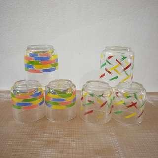 Vintage Glass 3pcs RM6