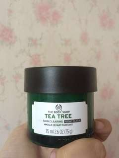 Skin Clearing Night Mask  for Oily/Acne Skin by The Body Shop