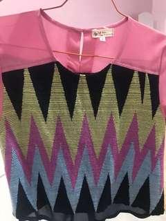 Batik tenun kombinasi Dea Valencia sz S