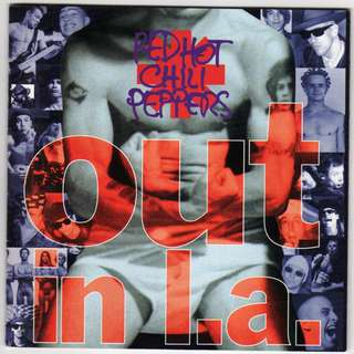 CD USA Red Hot Chili Peppers ‎– Out In L.A.