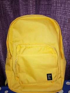 Yellow SPAO backpack
