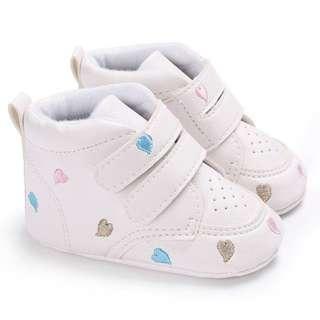 Baby Toddler Infant Heart-shaped Soft Anti-slip Prewalker