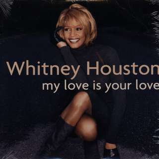 CD Whitney Houston – My Love Is Your Love