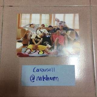 BTS NOW 3 postcard