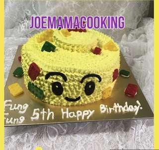 Lego cake lego蛋糕 生日蛋糕