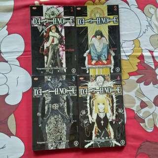 Komik Death Note Vol. 01 - 04