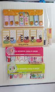 Cute daiso sticky notes