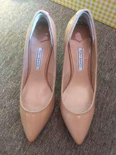 Tony Bianco Nude Pointed Heels