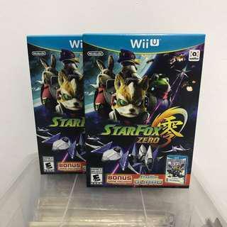 [NEW] Nintendo Wii U Star Fox Zero