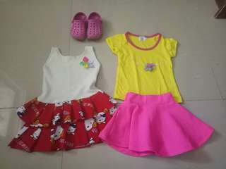 Ptelibed for girls set