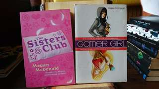 Gamer Girl by Mari Mancusi, The Sisters Club by Megan McDonald