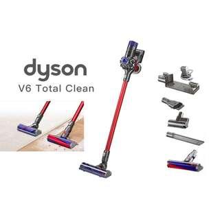 Dyson V6 Total Clean 無線吸塵機 [英國版,香港插頭] (全新,有保用)