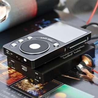🚚 SAOMAI SM4 High Resolution DAC Lossless Portable MP3 Player HIFI Music Player + HA1 Headphone Amplifier