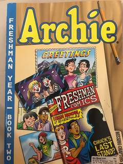 ARCHIE FRESHMAN YEAR BOOK TWO