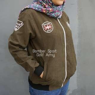 BOMBER LADIES SPORT GOLF ARMY