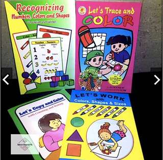 Reading & Activity books for Children