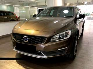 Volvo V60 Cross Country T5 2.0A @ $139,800 (Used Car)
