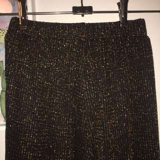 Kinki Gerlinki Bronze Threaded Culottes