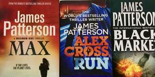 Bundle of 3 Books by James Patterson