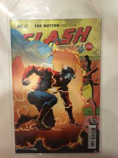 FLASH COMICS: The button Part 4 (no.22)