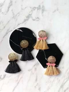 Leah Tassel Earrings