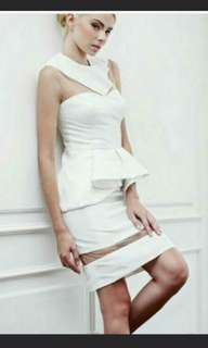 Potts white dress #maudecay