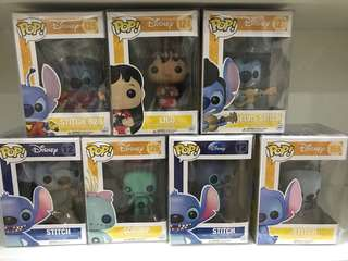 Funko Pop Lilo and Stitch disney set