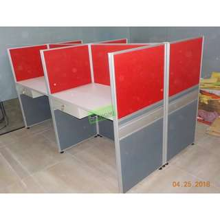 WORKSTATIONS CUBICLES 100X60 TABLE--KHOMI