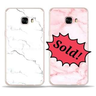 三星 Samsung C9pro marble soft case 白色雲石紋軟殼