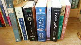 Preloved books/novels for sale