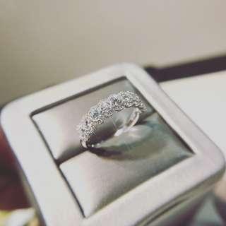 1卡04份鑽石戒指 PR20220 18k白金/玫瑰金