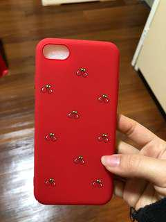 Brand new cute red cherry iPhone 7/8 case